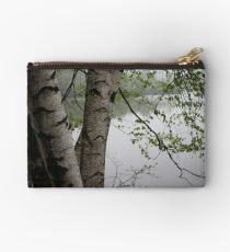 Birch Tree Waterscape 3229  Studio Pouch