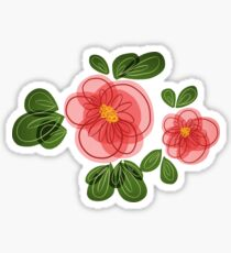 Moana Flower Sticker