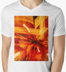 Zooming into the Museum Men's V-Neck T-Shirt