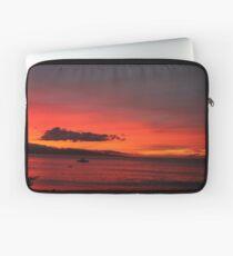 Kaanapali Beach Sunset Laptop Sleeve