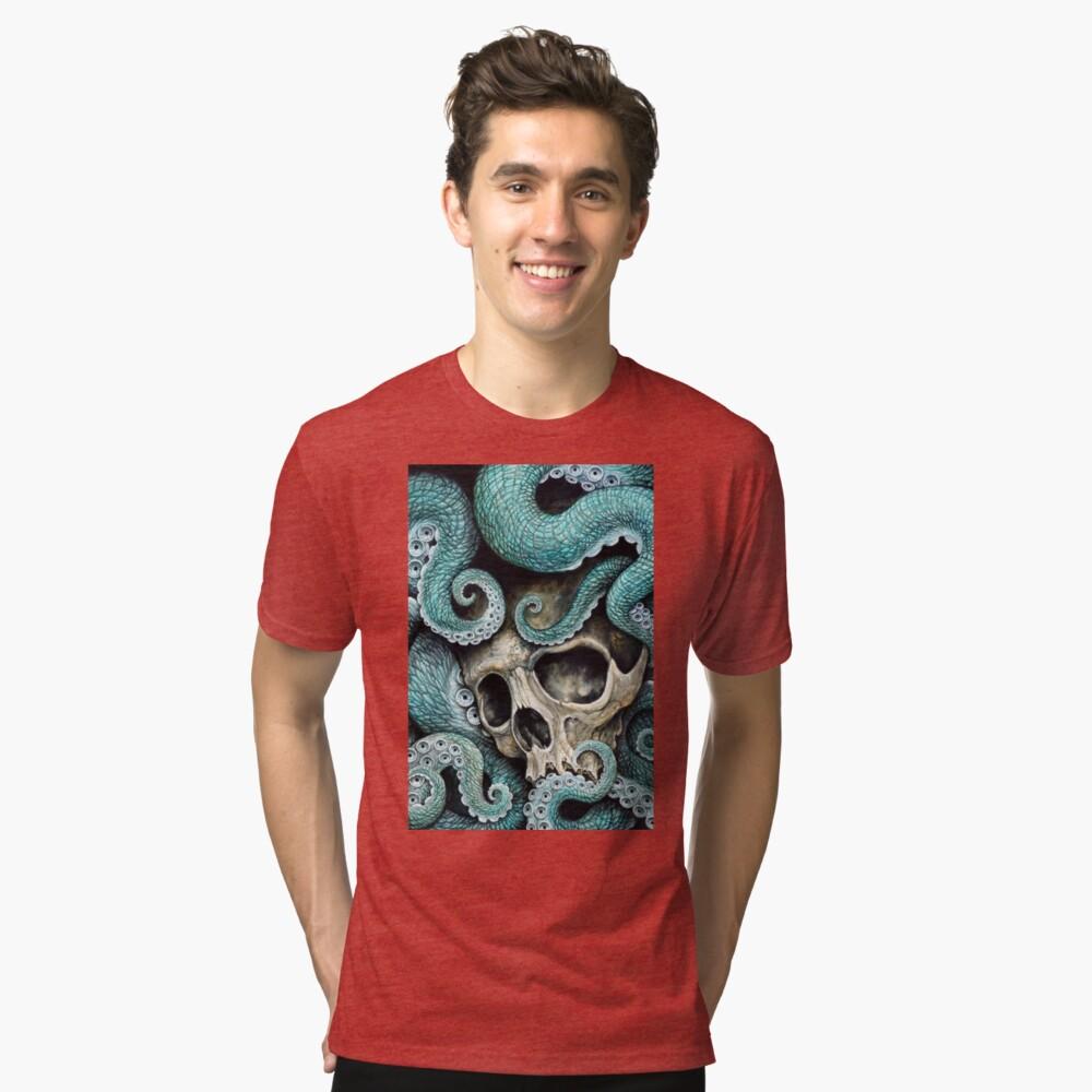 please love, don't die so far from the sea Tri-blend T-Shirt