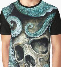 Camiseta gráfica por favor amor, no mueras tan lejos del mar