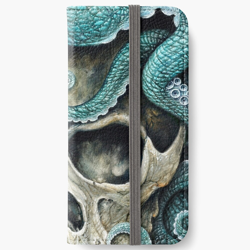 please love, don't die so far from the sea iPhone Wallet