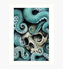 please love, don't die so far from the sea Art Print