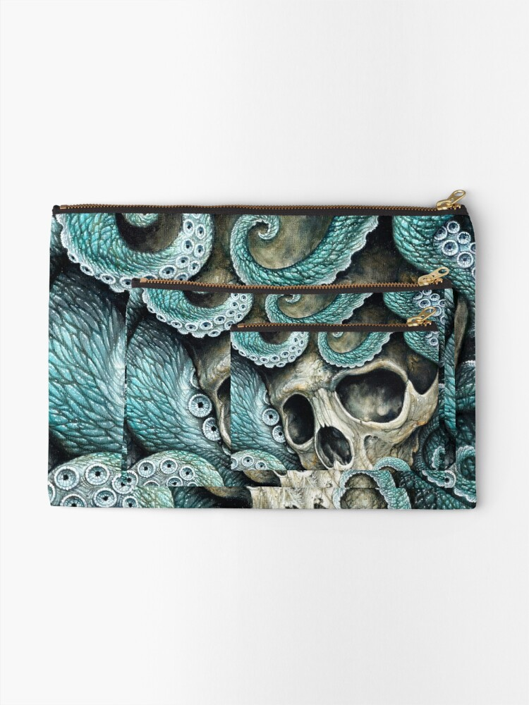 Alternate view of please love, don't die so far from the sea Zipper Pouch