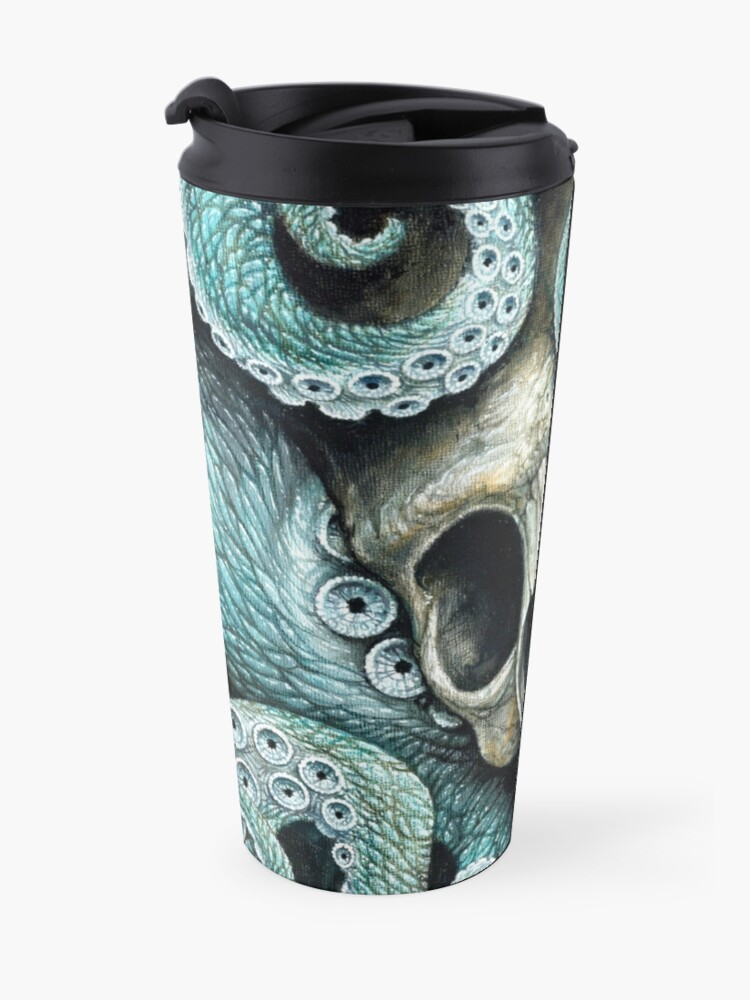 Alternate view of please love, don't die so far from the sea Travel Mug