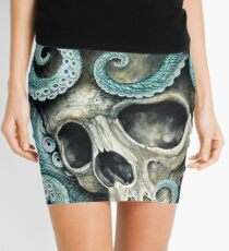 please love, don't die so far from the sea Mini Skirt