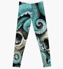 please love, don't die so far from the sea Leggings