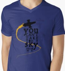 You can't take the sky from me.  Men's V-Neck T-Shirt
