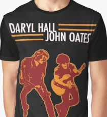 DARYL HALL AND JOHN OATES Graphic T-Shirt