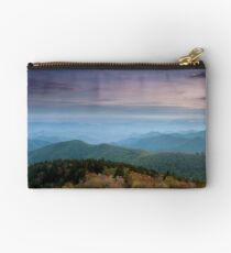 Blue Ridge Mountain Sunset Studio Pouch