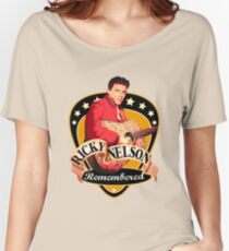 Remembered Ricky Nelson Women's Relaxed Fit T-Shirt