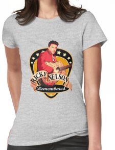 Remembered Ricky Nelson Womens Fitted T-Shirt