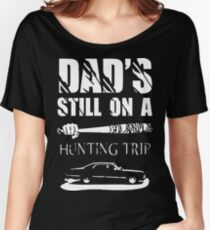 TWD/SPN - Negan/John Winchester's Hunt Trip Women's Relaxed Fit T-Shirt