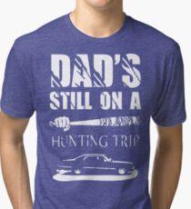 TWD/SPN - Negan/John Winchester's Hunt Trip Tri-blend T-Shirt