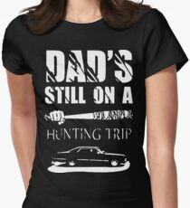 TWD/SPN - Negan/John Winchester's Hunt Trip Women's Fitted T-Shirt