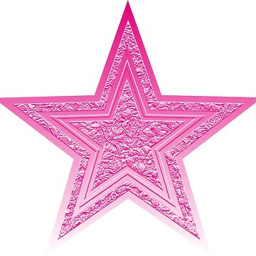 Pink Star Tee by dohcom