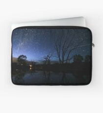 Space Station Meets Comet Lovejoy Laptop Sleeve