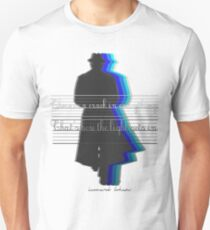 There is a crack in everything.That's how the light gets in Unisex T-Shirt