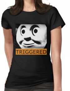 Thomas the Train (TRIGGERED) Womens Fitted T-Shirt