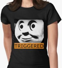 Thomas the Train (TRIGGERED) Women's Fitted T-Shirt