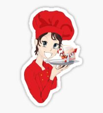 Best Chef for Christmas Sticker