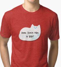 Does Jumin Han is gay? Tri-blend T-Shirt