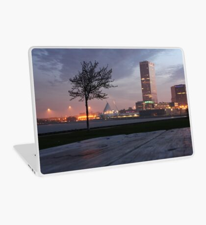 Milwaukee Night Cityscape Laptop Skin