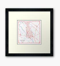 Oxford (pink) Framed Print