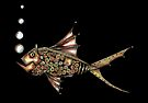 Steampunk fish by Jenny Wood