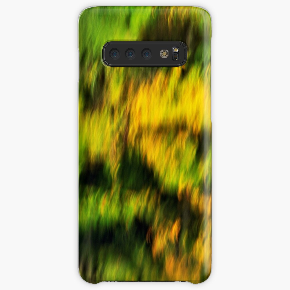 Abstract autumn colours reflected in the river Case & Skin for Samsung Galaxy