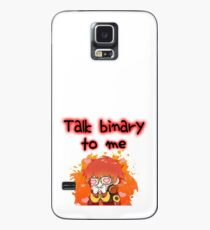 707-Talk binary to me Case/Skin for Samsung Galaxy