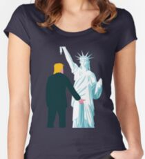 Trumps Lady Women's Fitted Scoop T-Shirt