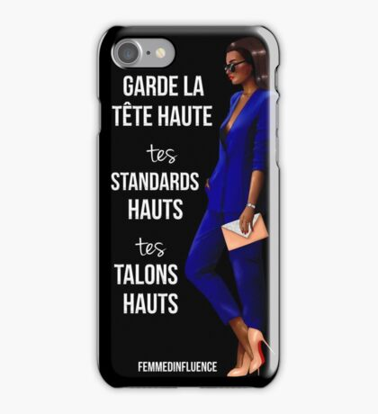 #LadyBOSS Coque et skin iPhone