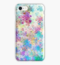 Happy color paint droplets iPhone Case/Skin