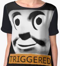 Thomas the Train (TRIGGERED) Chiffon Top