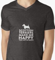 Boston Terriers Make Me Happy Not You T-Shirt