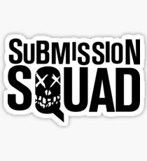 Submission Squad (Brazilian Jiu Jitsu / BJJ) Sticker