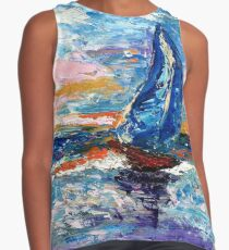 """""""Sail With Me"""" Contrast Tank"""
