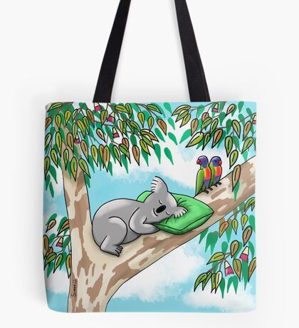 Sweet Dreams Sleepy Koala Tote Bag