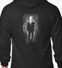 The Slender Man Zipped Hoodie