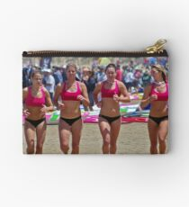 Port Campbell girls warm up Studio Pouch