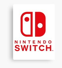 Nintendo Switch Canvas Print
