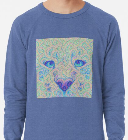 Ice Spirit #DeepDreamed Lightweight Sweatshirt