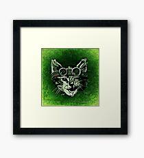 Cool Cat Framed Print