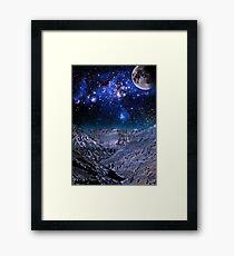Lost Planet Framed Print