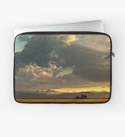 Sunset and Turmoil Laptop Sleeve