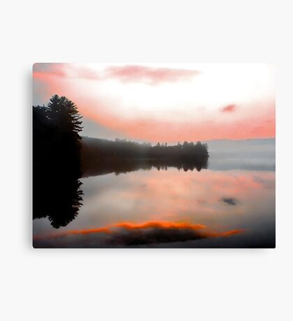 -Keewaydin Lake - Dusk  Canvas Print