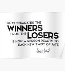 winners, losers - donald trump Poster