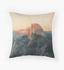 Half Dome III Throw Pillow